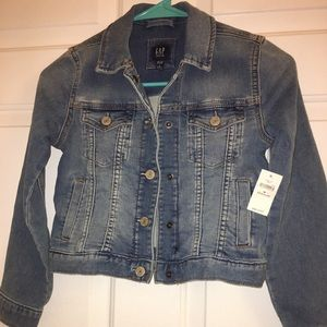 Brand New Little Girls Jean Jacket